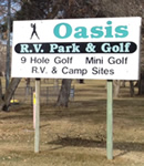 Daneile Litterell of Oasis RV Park & Golf Course in Ephrata, Washington